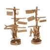 <strong>Woodland Imports</strong> 2 Piece Classy Driftwood Décor Set