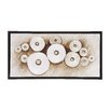 Woodland Imports The Simple Wood Frame Graphic Art on Canvas