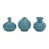 Woodland Imports 3 Piece Vase Set