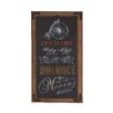 Woodland Imports Attractive and Inspiring Chalkboard