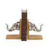 <strong>Grand Elephant Book End (Set of 2)</strong> by Woodland Imports
