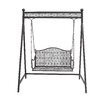 Woodland Imports Porch Swing with Stand