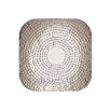 Woodland Imports The Shield Stainless Steel Platter Wall Décor
