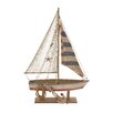 Woodland Imports The Amazing Wood Rope Sailing Boat