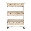 Woodland Imports Traditional and Timeless Serving Cart