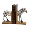 Woodland Imports Horse Book Ends (Set of 2)