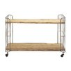 Woodland Imports Multi Purpose Serving Cart