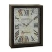 Woodland Imports Lovely and Rustic Wood Wall Clock