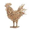Woodland Imports Marvelously Designed Driftwood Rooster Figurine