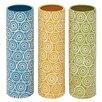 Woodland Imports Amazing Styled Ceramic Vase (Set of 3)