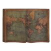Woodland Imports Cool and Unique Wood Wall World Map Wall Décor