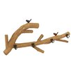 <strong>Stunning Nature and Lovely Bird Wood Wall Hook</strong> by Woodland Imports