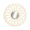 Woodland Imports Exquisite & Elegant Metal Mirror