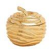 Woodland Imports Polystone Apple Decorative Jar