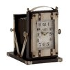 Woodland Imports Buckingham Fancy Metal Table Clock