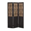 """<strong>71"""" x 48"""" 3 Panel Room Divider</strong> by Woodland Imports"""
