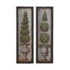 Woodland Imports 2 Piece Framed Painting Print Set