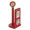 "Woodland Imports ""US 66"" Gas Pump Paper Holder Sculpture"
