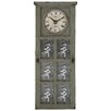 <strong>Rustic and Stately Design Wall Clock</strong> by Woodland Imports