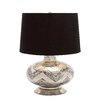 "Woodland Imports Designer 25"" H Table Lamp with Drum Shade"