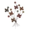 <strong>Victorian Styled Floral Butterflies Wall Décor</strong> by Woodland Imports