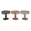 Woodland Imports Traditional Style Metal Stand Set (Set of 3)