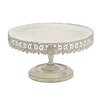 Woodland Imports Metal Cake Stand