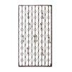 Woodland Imports Metal Wall Hook Panel