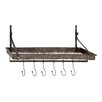 Woodland Imports Vintage British Style Coat Rack