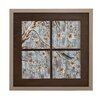 <strong>Woodland Imports</strong> Window Themed Framed Painting Print