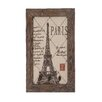 <strong>Woodland Imports</strong> Eiffel Tower Wall Hook Décor