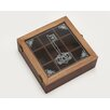 Woodland Imports Square Shaped Historic Wood Box