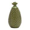 Woodland Imports Floral Bird Decorative Jar