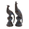 <strong>Woodland Imports</strong> 2 Piece Ceramic Bird Statue Set