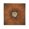 Woodland Imports Floral Earth Painting Print on Canvas
