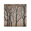 Woodland Imports Modern Tree Themed Painting Print on Canvas