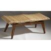 <strong>Butler</strong> Designer's Edge Woven Seagrass Bench
