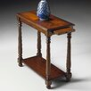 <strong>Plantation Cherry Chairside Table</strong> by Butler