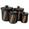 <strong>4 Piece Avanti Canister Set</strong> by Sango