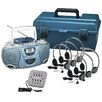 <strong>6 Person Val-U-Pack CD Listening Center</strong> by Hamilton Electronics