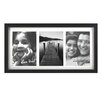 Fetco Home Decor Grenon Matted Triple Picture Frame