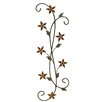 <strong>Fetco Home Decor</strong> Katelyn Floral Scroll Wall Décor
