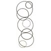 <strong>Ruth Abstract Circles Wall Décor</strong> by Fetco Home Decor