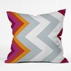 DENY Designs Karen Harris Woven Polyester Throw Pillow