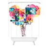 <strong>DENY Designs</strong> Randi Antonsen Polyester Flower 6 Shower Curtain