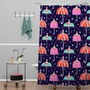 DENY Designs Rebekah Ginda Design Night Shower Curtain
