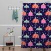 DENY Designs Rebekah Ginda Design Night Shower Curtain