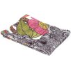Valentina Ramos Arabella and The Polyester Flowers Fleece Throw Blanket