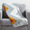 DENY Designs Karen Harris Polyester Fleece Throw Blanket