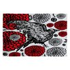 DENY Designs Julia Da Rocha Raven Rose Area Rug